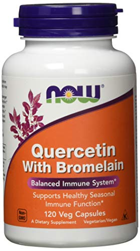 Now Quercetin with Bromelain 120 Veg Capsule