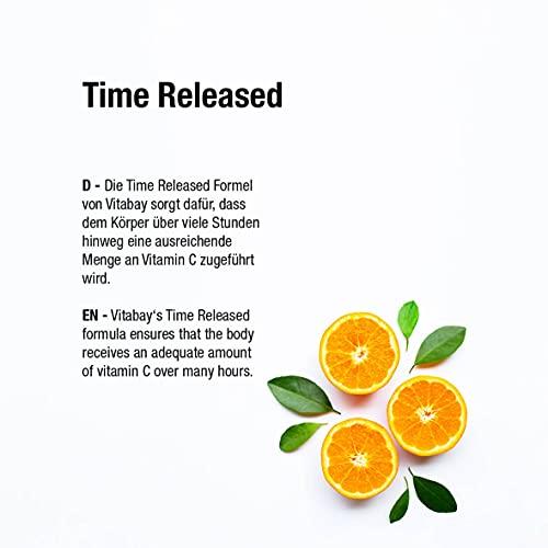 Vitamin C 1000 mg + Bioflavonoide – Time Released – 100 Vegane Tabletten - 6