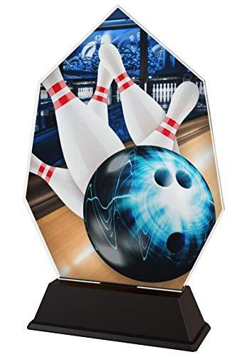 Trophy Monster   Bowling Trophäe   für Kinder, Party, Geburtstag   Produkt OHNE persönliche Beschreibung 