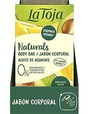 La Toja Naturals La Toja Naturals - Barra Jabón Corporal - Aceite de Aguacate - 100g - Piel intensamente nutrida e irresistiblemente suave - Fórmula vegana - Fragancias que dejan huella 100 g