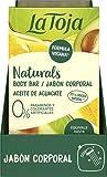 La Toja Naturals - Gel de Ducha Sólido, Aceite de Aguacate, 100 g, piel intensamente nutrida e irresistiblemente suave, fórmula vegana, fragancias que dejan huella