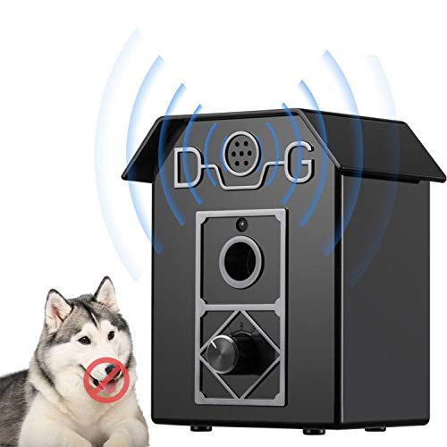 Kaier cat Stop Barking Device, Anti-bark Box Ultrasonic Dog Bark Control, Sonic Bark Deterrents Bark Controller Indoor & Outdoor Use 50 Ft Range Safe for Dogs & Human