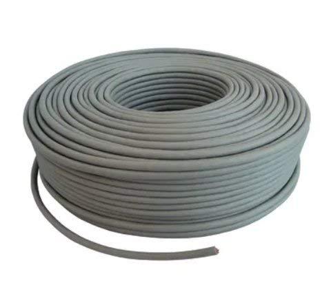 irondigital MATASSA 100m Cavo di Rete Ethernet CAT5E, AWG24, CCA, UTP, RJ45 Bobina di Rete Grigio