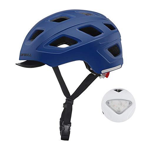 Casco Bicicleta Helmet de Bici,Adulto Casco Bicicleta Montaña Tamaño Ajustable para Hombres...