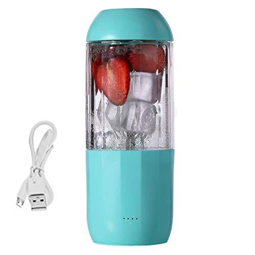 JINHH Mini Juicer, Juice Blender USB Cup Multi-Function Fruit Mixer Six Blade Mixing Machine