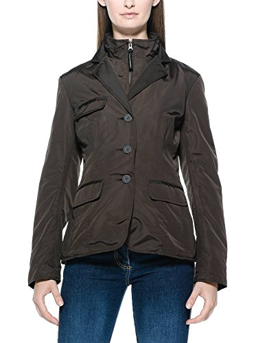 Tucano Urbano 899MA1 COTTAGE LADY - Classic and Vrouwen Style Cut, windstopper en waterafstotend blazer, bruin, maat XXS