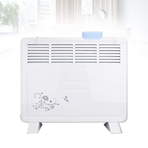 Yunjie Elektroheizung 1600W Heizung Heizkörper Radiator 2 Heizstufen Mit Befeuchtungsbox Kann an der Wand montiert Werden Weiß