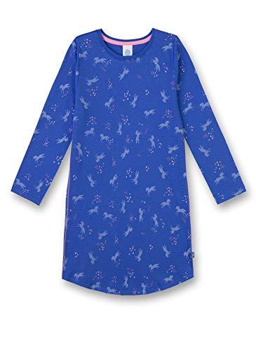 Sanetta Mädchen Sleepshirt Nachthemd, Blau (Cornflower Blue 5357), 152