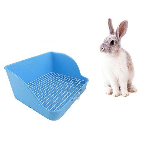 ACAMPTAR Pet Hase Toilette Plastik Hase zu reinigen Hase WC Schnalle Design, Nicht einfach zu verlieren