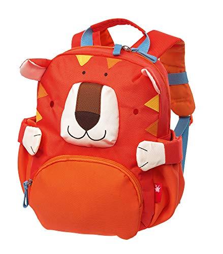 sigikid, Jungen und Mädchen, Mini Rucksack, Motiv Tiger, Orange, 24922