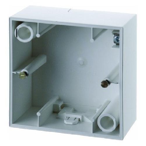 Preisvergleich Produktbild Hager S1 BERK AP-Gehäuse 10419909 1fach polarweiss matt,  Weiß