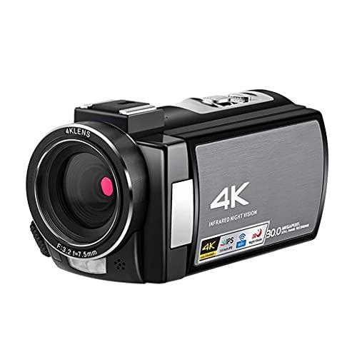 KDMB Cámara de Video Digital Cámara de Video 4K Pantalla táctil Digital...