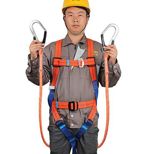 LAIABOR Arnés de protección contra caídas cinturón de Seguridad de ...