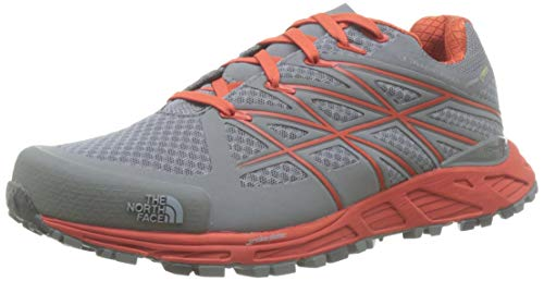 The North Face M Ultra Endurnce GTX, Zapatillas de Senderismo Hombre, Gris (Monument Gry/Valencia Org), 47 EU