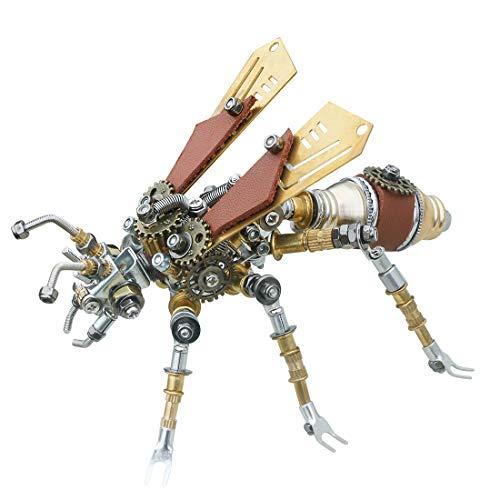 Gettesy 3D Metall Puzzle, DIY Termite Metall Modellbausatz, 3D Konstruktionsspielzeug Metall, Mechanischer Tier Baukasten Geschenk für Kinder Jugendliche Und Erwachsene