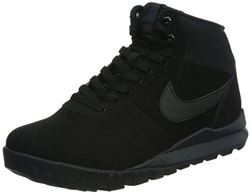 Nike Hoodland Suede Herren Desert Boots, Black (Black (Schwarz / Schwarz-Anthrazit)), 45.5 EU