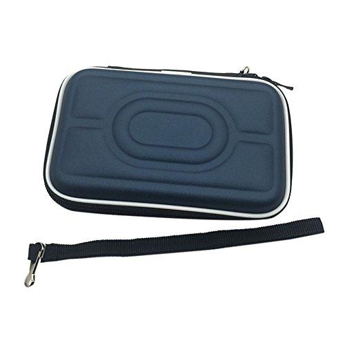 Meijunter Hart EVA Tragetasche Schutzhülle Tasche Hülle Etui für Nintendo Gameboy Advance GBA Gameboy Color GBC Konsole (Dunkelblau)