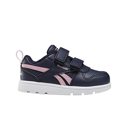 Reebok Royal Prime 2.0 2V, Zapatillas de Deporte para Mujer, VECNAV/ROSSUA/Blanco, 38.5 EU