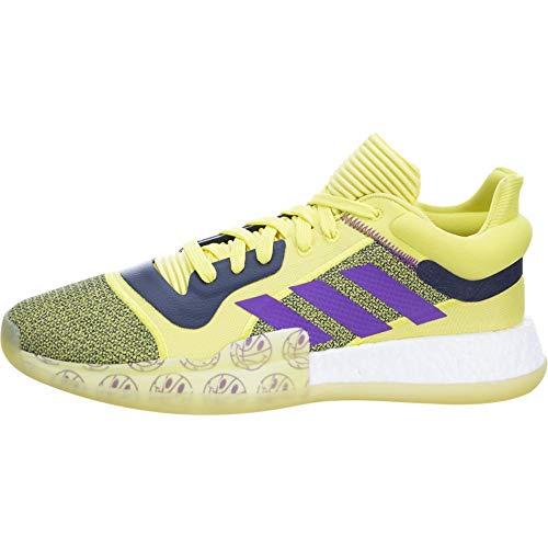 adidas Herren Festzelt Boost Low, Gelb (Shock Yellow/Active Purple/Collegiate Navy), 47.5 EU