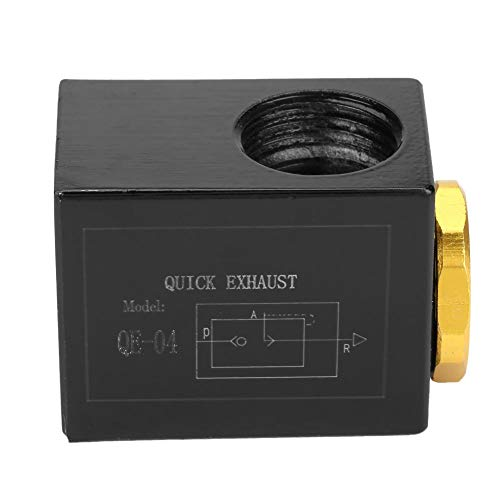Aluminum Alloy Pneumatic Inlet Port Air Quick Exhaust Valve(QE-04 G1/2