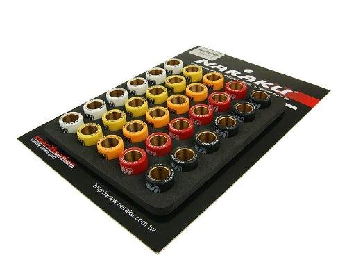 Abstimmset Naraku für Variomatik 16x13mm 5,0-6,0g für Piaggio NRG 50 Power DD LC 07-09 ZAPC451