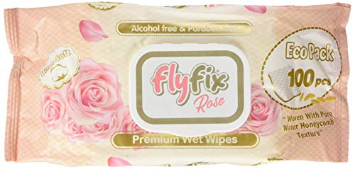 FlyFix TRFFXBD100022-3 - Toallitas Húmedas Fresh - 100 Pcs 3 paquetes, unisex