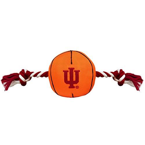 NCAA Indiana Hoosiers Basketball Rope Dog Toy