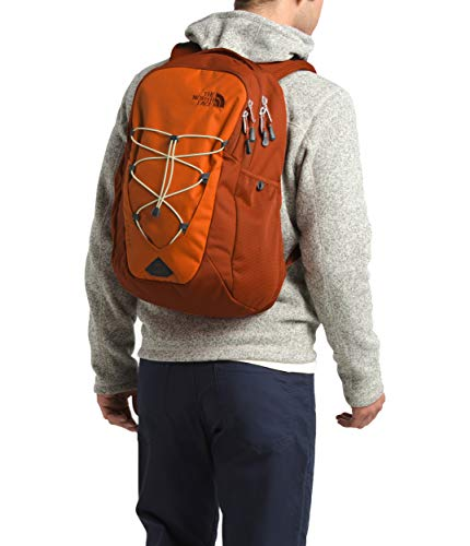 The North Face Jester Backpack, Papaya Orange/Picante Red, One Size