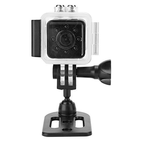 Mini cámara, portátil SQ13 Full HD 1080P Estuche Impermeable con Sensor CMOS Grabador de acción con Vista Nocturna, 155 ° más allá del Gran Angular, para Surfear, pelar, Nadar, navegar
