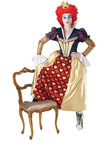 Rubies Disfraz de Reina de corazones™ para mujer - L