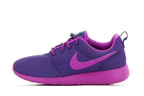 Nike Roshe One, Multisport Outdoor Donna, (Viola Midnight Teal Vivido Viola Grigio), 36.5 EU
