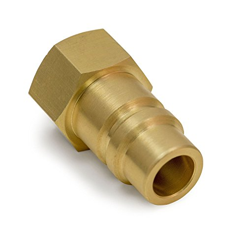 OEM TOOLS 24554 Refrigerant Tank Adapter (R134a) | Reclaim Refrigerant from R134a Refrigerant Cylinders to a Recovery Machine | Male Low Side R134a to Female 1/2 Inch Acme