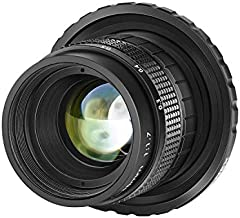 Neewer 35mm F1.7 Large Aperture APS-C Aluminum Lens Compatible with Sony E-Mount Mirrorless Cameras NEX-5R NEX6 NEX7 A3000 A3100 A5100 A6000 A6100 A63000 A6400 A6500 A6600,Multi-Coated, Manual Focus