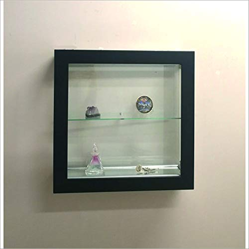 VM ART DESIGN GLASS Vitrina Mural VMBR6TC-QD50-TR (Black)
