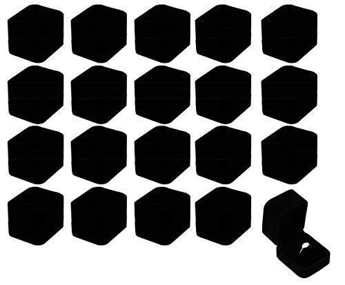アクセサリー ギフトボックス ギフト ケース ラッピング 箱 ラッピング 20個 セット [elrin] (リングボックス)