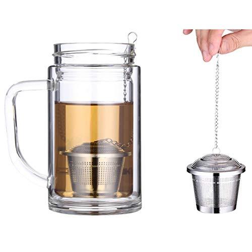 Para el té Filtro Paulclub acero inoxidable de bloqueo