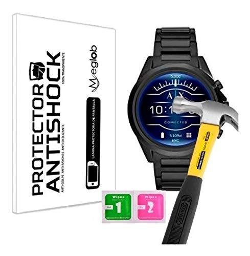 Screen protector Anti-Shock Anti-scratch Anti-Shatter compatibel met Armani Exchange Men's Smartwatch