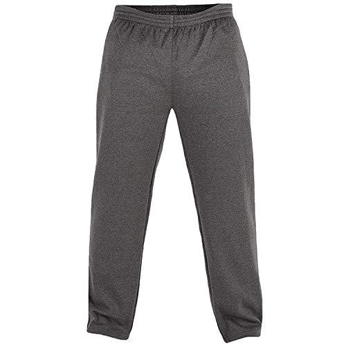 Rockford KS1616 Sweatshirt uni anthrazit Rundhals in Übergrößen: Farbe: anthrazit   Größe: 68/7XL
