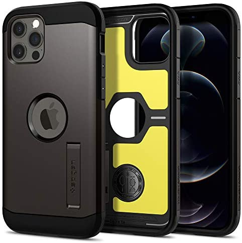 Spigen Tough Armor Designed for iPhone 12 Case 2020 Designed for iPhone 12 Pro Case 2020 Gunmetal product image