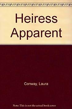 Paperback HEIRESS APPARENT ,. LARGE PRINT Book