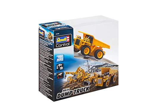 RC Auto kaufen Baufahrzeug Bild 6: Revell Control 23495 RC Baufahrzeug Kipplaster, 40MHz, Akku ferngesteuertes Auto, gelb-orange, 10 cm*