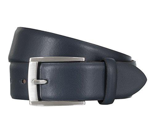 LLOYD Leder Gürtel 1375 verschiedene Farben, Farbe:Blautöne, Länge:90 cm