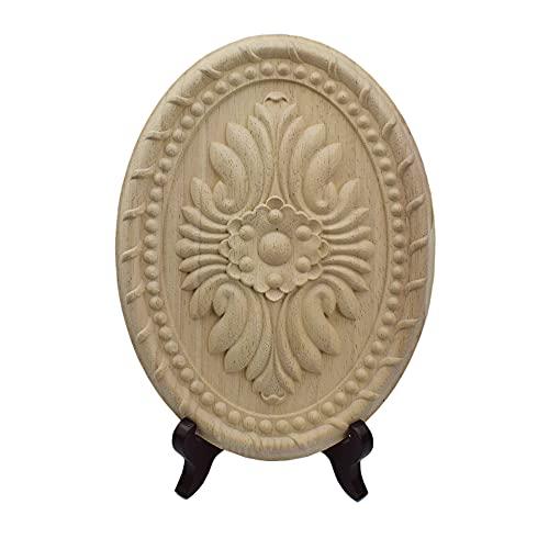 Gaodpz Holzschnitzel Aufkleber Ecke Vintage Dekoration Massivholz Carving Dekorative Applique Handwerk Schreibtisch Zimmer Dekoration Zubehör (Farbe : 20x15cm)