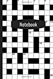 Crossword Puzzle Notebook: Blank Lined 6'x9' Journal