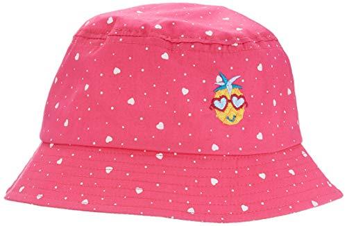 maximo Mädchen Hut Mütze, Mehrfarbig (Pink Rose-Herzen 64), (Herstellergröße: 51)