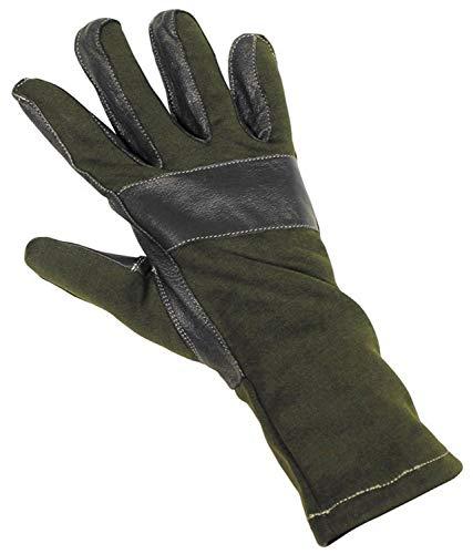 BW Kampfhandschuhe, oliv, Lederbesatz Größe: XXL