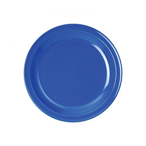 WACA® 1928-873 Speisenteller Kunststoffteller ∅235 mm blau