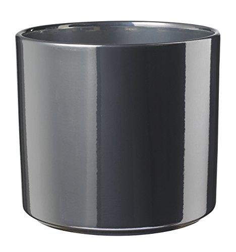 soendgen Céramique Pot de Fleurs, de Las Vegas, Argile, Silber, 14 x 14 x 13 cm