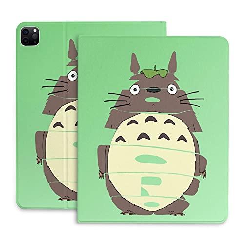 Anime My Totoro - Funda para tablet iPad Pro 2020-11´ç con función de encendido y apagado automático y ranura para bolígrafo, ultra delgada, ligera, cubierta de cuero