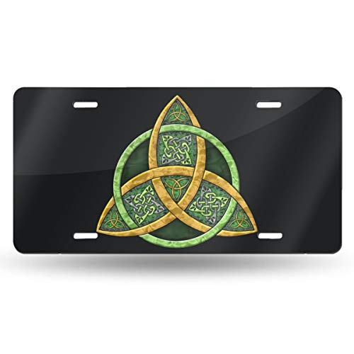 TPSXXY-LP Cool Celtic Trinity Knot Novelty Car 6x12 Aluminum Front Vehicle License Plate Frame Vanity Tag Sign